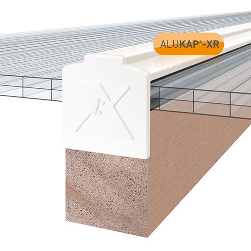 Alukap-XR Additional Bar Endcap Each WH Image 2