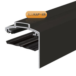 Alukap-XR 60mm Gable Bar 6.0m 45mm RG BR Alu E/Cap