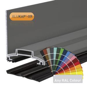 Alukap-XR 60mm Wall Bar 3.0m 45mm RG PC Alu E/Cap