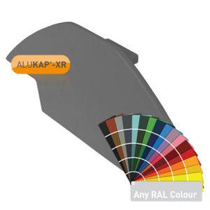 Alukap-XR Ridge Gable End Plate Powder Coated