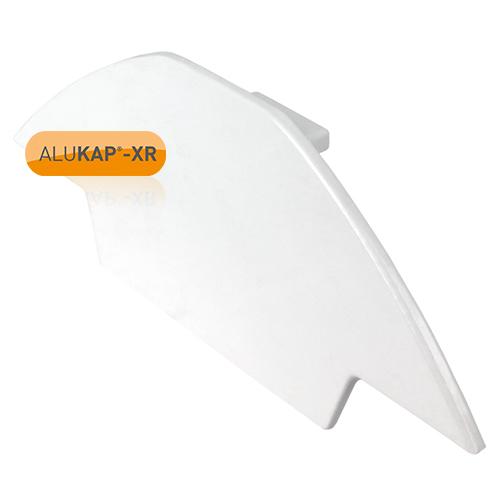 Alukap-XR Ridge Gable End Plate White