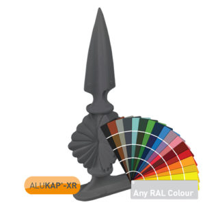 Alukap-XR Aluminium Finial Powder Coated
