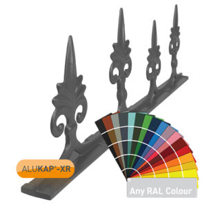 Alukap-XR 595mm Aluminium Crest Powder Coated