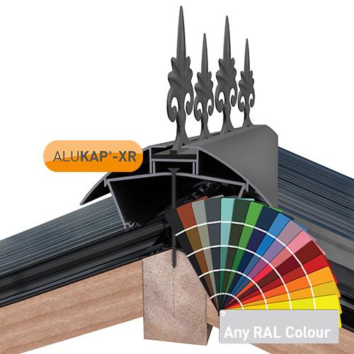 Alukap-XR 595mm Aluminium Crest Powder Coated Image 2