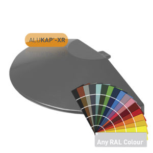 Alukap-XR Roof Lantern Radius End Cap PC