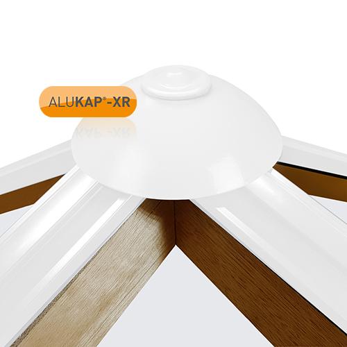 Alukap-XR Roof Lantern Pinnacle Top Cap White Image 2