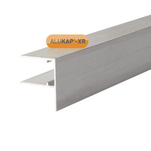 Alukap-XR 16mm Aluminium F Section 4m