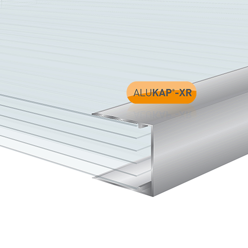 Alukap-XR 32mm Aluminium C Section 4m Image 2