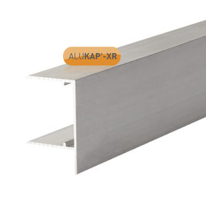 Alukap-XR 32mm Aluminium F Section 4m