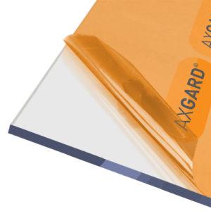 Axgard Clear 10mm UV Protect Polycarb 500 x 2000mm