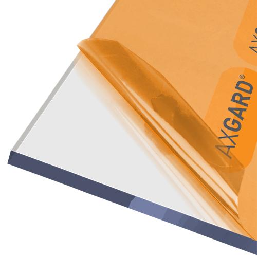 Axgard Clear 12mm UV Protect Polycarb 500 x 1000mm