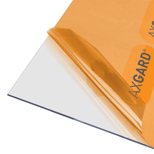 Axgard Clear 2mm UV Protect Polycarb 2050 x 1500mm