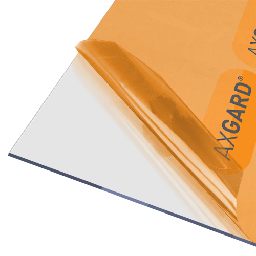 Axgard Clear 3mm UV Protect Polycarb 500 x 1000mm