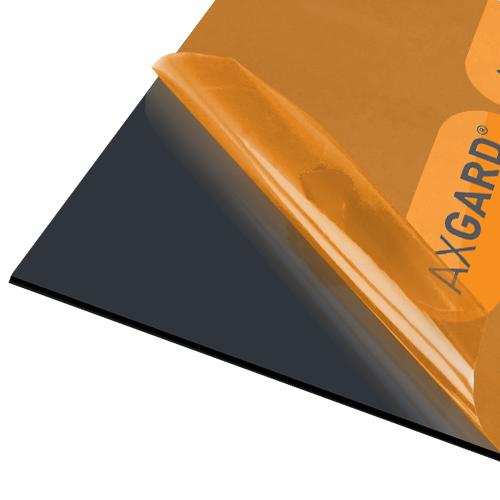 Axgard Black 3mm UV Prtc Polycarb 1000 x 500mm