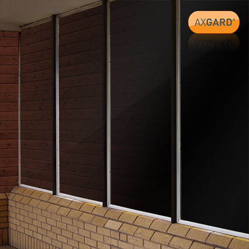 Axgard Black 3mm UV Prtc Polycarb 1000 x 1000mm Image 2