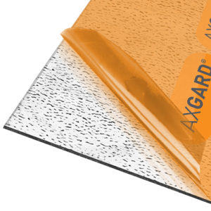 Axgard Patternd 3mm  Polycarb 2050 x 1000mm