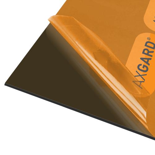 Axgard Bronze 4mm UV Prtc Polycarb 500 x 500mm