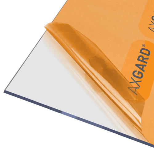 Axgard Clear 4mm UV Protect Polycarb 500 x 500mm