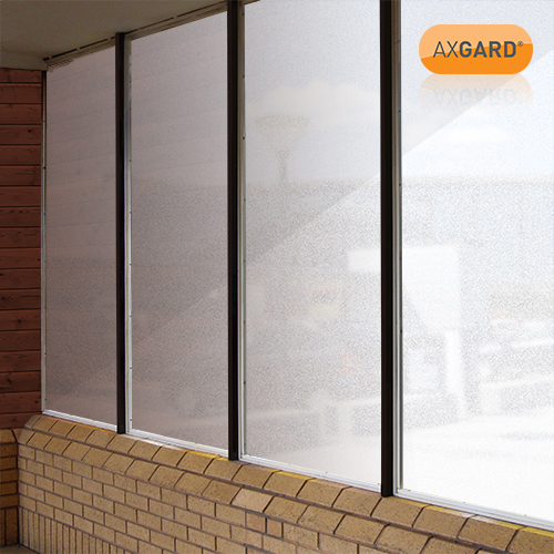 Axgard Patternd 4mm UV Prtc Polycarb 500 x 500mm Image 2