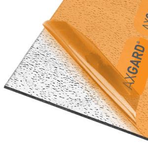 Axgard Patternd 4mm UV Prtc Polycarb 1000 x 500mm