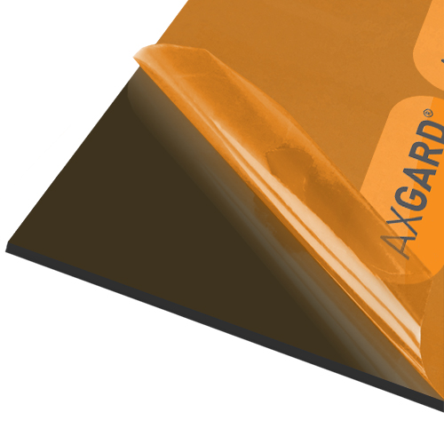Axgard Bronze 5mm UV Prtc Polycarb 500 x 2000mm