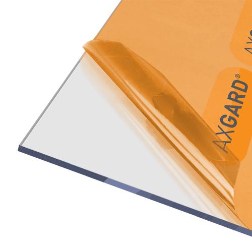 Axgard Clear 5mm UV Protect Polycarb 500 x 1000mm