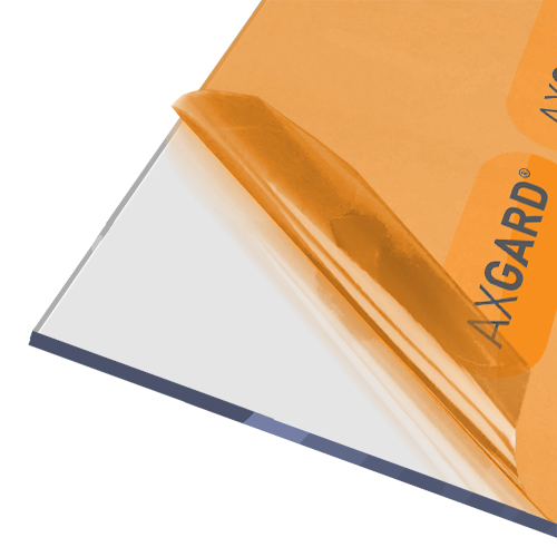 Axgard Clear 6mm UV Protect Polycarb 500 x 1000mm