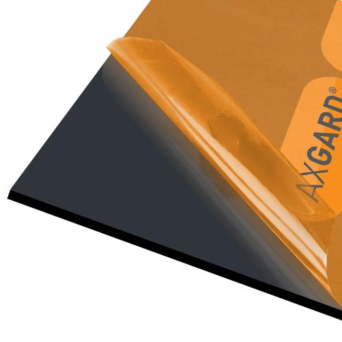 Axgard Black 6mm UV Prtc Polycarb 1000 x 1000mm