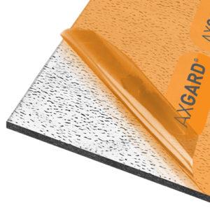 Axgard Patternd 6mm UV Prtc Polycarb 2050 x 500mm