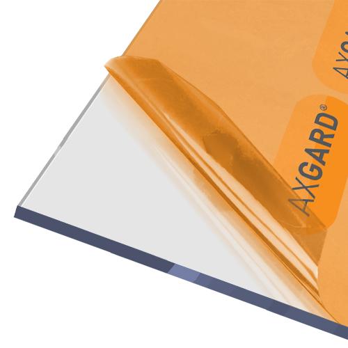 Axgard Clear 8mm UV Protect Polycarb 1250 x 1240mm