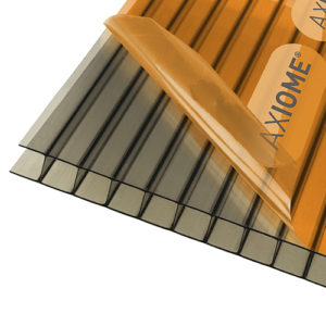 Axiome Bronze 10mm Twinwall 1050 x 2000mm