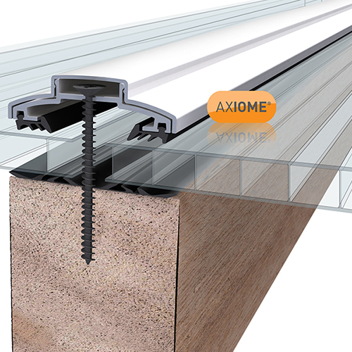 Axiome Clear 10mm Twinwall 1050 x 2500mm Image 2