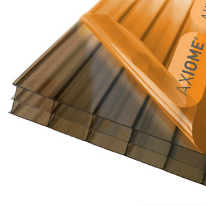 Axiome Bronze 16mm Polycarbonate 840 x 2000mm