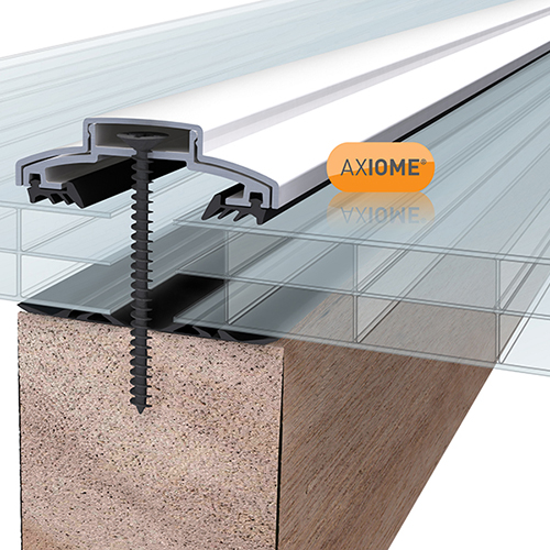 Axiome Clear 16mm Polycarbonate 840 x 2500mm Image 2