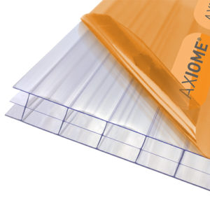 Axiome Clear 16mm Polycarbonate 1250 x 2000mm