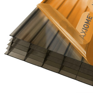 Axiome Bronze 25mm Polycarbonate 1050 x 2500mm