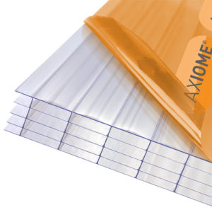 Axiome Clear 25mm Polycarbonate 1250 x 4000mm