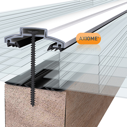 Axiome Clear 25mm Polycarbonate 690 x 3000mm Image 2