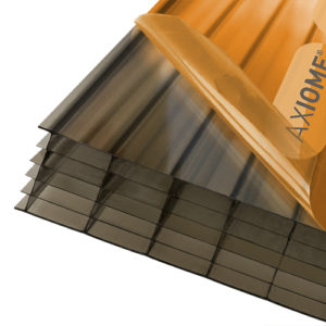 Axiome Bronze 35mm Polycarbonate 840 x 2500mm