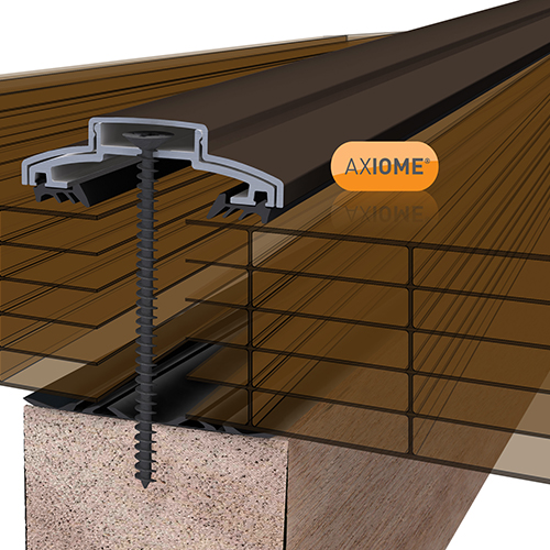 Axiome Bronze 35mm Polycarbonate 1050 x 5000mm Image 2