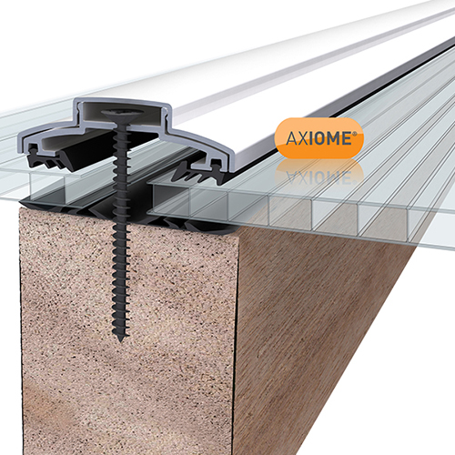 Axiome Clear 4mm Twinwall 690 x 3000mm Image 2