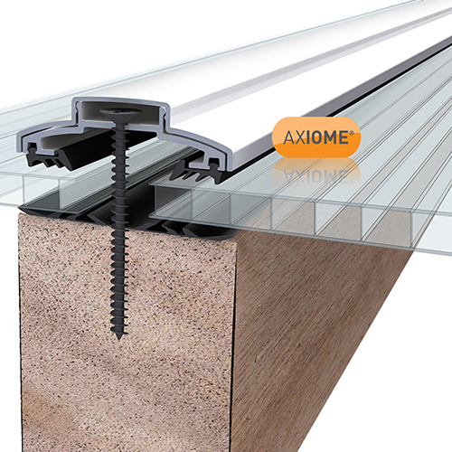 Axiome Clear 6mm Twinwall 1050 x 2000mm Image 2