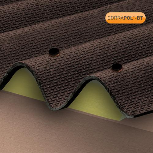 Corrapol-BT Brown 60mm Screw Cap Fixings (Pack Of 50) - NEW Image 2