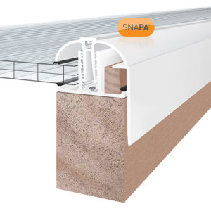 SNAPA Snap Fix PVC Gable Bars
