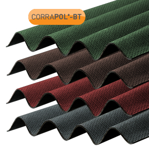 Corrugated Bitumen Roofing Sheets