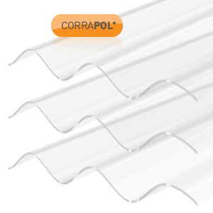Stormproof Clear Corrugated Sheets