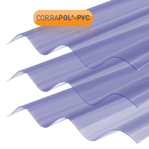 Clear PVC Corrugated Sheets
