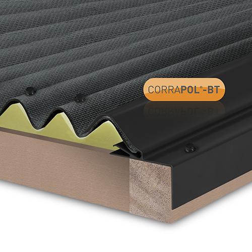 Corrapol-BT Rigid Rock n Lock Side Flashing 2m Black Image 2