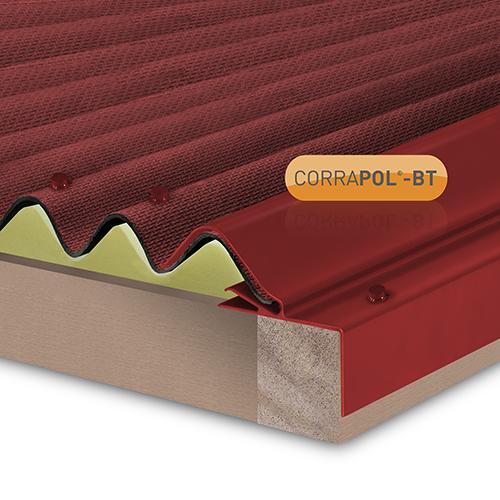 Corrapol-BT Rigid Rock n Lock Side Flashing 3m Red Image 2