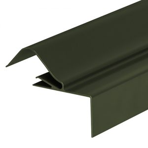 Corrapol-BT Rigid Rock n Lock Side Flashing 6m Green